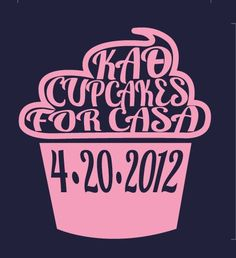 cupcakes and theta!  We have to do this!! I would come back and bake every single one of them!