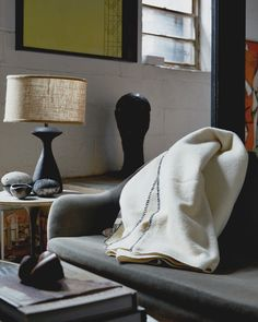 """Morning"" - Wool Throw Blanket - Nalata Nalata"