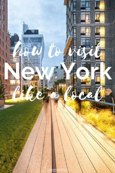 Get off the beaten path and experience New York City like a local. This NYC local's guide gives you the insider spots and local haunts to give you a glimpse at old school New York. Written by a bonafide New Yorker - so you know it's legit!