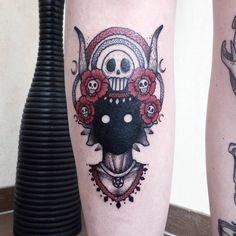 Darkhead tattoo by agatha schnips