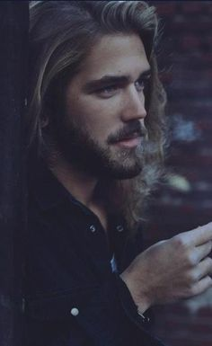 Model: Ben Dahlhaus. This man is living...and breathing somewhere out there in the world......