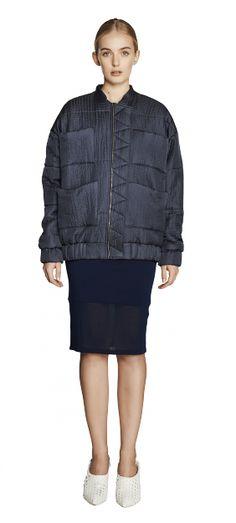 Carin Wester SS15 / Reva jacket Dark navy / http://www.carinwester.com