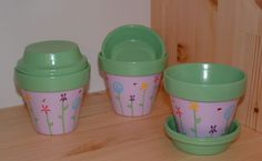 Painted Pot Ideas | Annabelles Angels - Hand painted pottery for Home & Garden & Gifts!