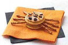 RITZ Spiders Halloween Appetizer Recipe