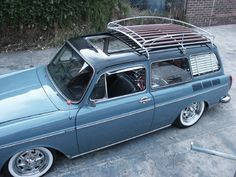 two tone vw fastback | 1973 volkswagen type 3 squareback factory metal sunroof 2 toned paint ...