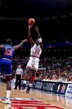 Michael Jordan Clyde Drexler NBA All-Star Game 5a50062e3