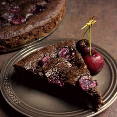 Chocolate Cherry Cake - heaven in your mouth!