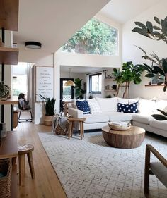 A corner sectional doesnt have to go in a corner—it can also define a cozy sitting area in a larger open space, as demonstrated by…