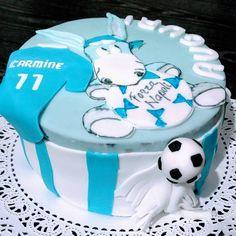 """Mi piace"": 15, commenti: 1 - Dana Draghici (@dandanaglutenfree) su Instagram: ""Football cake again!  Happy Birthday Carmine! ""Napoli"" personalised gluten free cake:  chocolate…"""
