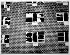 """Matta Clark : """"window blow out"""""""