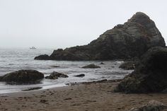 Muir Beach (just north of San Francisco), Photo by Marcia Prentice