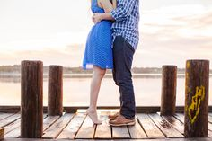 darling sunrise engagement shoot