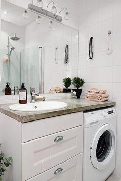 Tvättmaskin ger lite extra vardagslyx