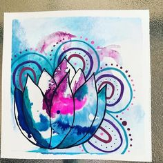690ABB07-AC0A-4048-8F40-29082F81D291 Paint Pens, Watercolor Paper, Ink, Frame, Creative, Cards, Painting, Picture Frame, Arches Watercolor Paper