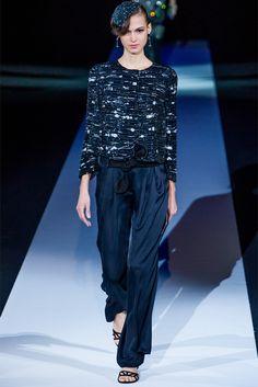 Sfilata Giorgio Armani Milano - Collezioni Primavera Estate 2013 - Vogue