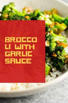 Broccoli Ideas, Broccoli Dishes, Broccoli Recipes, Broccoli With Garlic Sauce, Broccoli Chicken, Dishes Recipes, Food Dishes, Cooking Recipes, Garlic Recipes