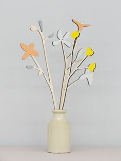 NEW! Meadow Flowers - Buttercup Set (3 stems) www.annawiscombe.com
