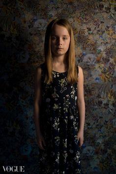 Hana in flowers Photography by Andrea Zerola