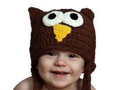 Melondipity Boys Dark Brown Owl Crochet Baby Hat - Cute Animal Knit Beanie (12 - 24 Months) Melondipity Baby Hats http://www.amazon.com/dp/B00C46FEEK/ref=cm_sw_r_pi_dp_Do9rub1BXQ8FY