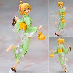 AmiAmi [Character & Hobby Shop]   Y-STYLE THE IDOLM@STER - Miki Hoshii Yukata Ver. 1/8 Complete Figure(Pre-order)