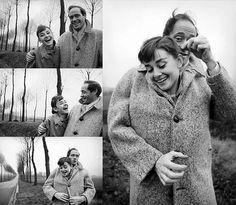 1953 yılında katıldığı bir partide tanıştığı Mel Ferrer'la, birbirlerinden etkilenmişlerdi.