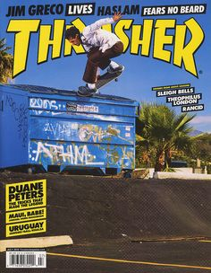 thrasher magazine covers - Google Search
