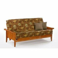 Night & Day Furniture Standard Venice Futon by Night & Day Furniture. $314.00. This Standard Venice stands and delivers with its striking sleigh arm-rest and its tongue-and-groove paneled front. The wood futon frames are built to last. These prime quality frames are made from the finest plantation grown materials and are constructed with traditional woodworking good sense. It is beautifully finished with automated and hand-rubbed techniques for a rich and durable finish. T...
