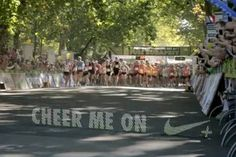 October 19, 2012 - Denuology.com: Nike Creates Digital 'Cheers' That Display In Real-Time On Half Marathon Course