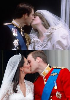 Two Famous Kisses Seen Around The World!