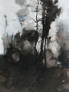 Painter's Process - Randall David Tipton: Fire in the Forest