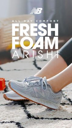 A pair of shoes that can keep up with you— from morning chaos to late-night relaxation. The Fresh Foam Arishi from New Balance has comfort and style for all-day, every day. Available now at New Balance and other shoe retailers near you.