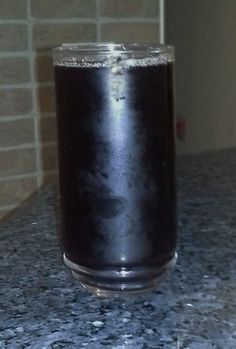 Agua de Jamaica.  For this recipe and more please visit: http://veggiechica.com/2014/03/08/agua-de-jamaica-hibiscus-tea/