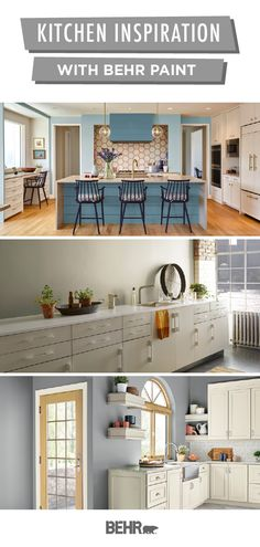 Whatever your home decor style, Behr Paint has plenty of inspiration for your next DIY home makeover project. Start with a new coat of paint on the walls, kitchen cabinets, island, and more. Click below to explore by moods, styles, and color palettes.