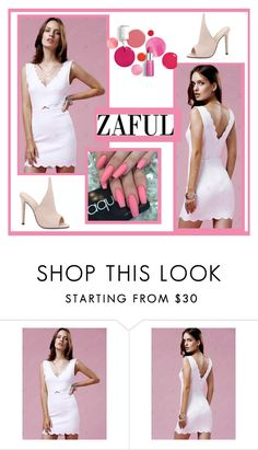 """Zaful"" by nadatrixi ❤ liked on Polyvore featuring Clinique"