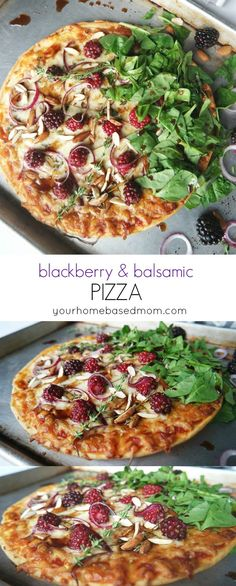 Blackberry and Balsamic Pizza Recipe