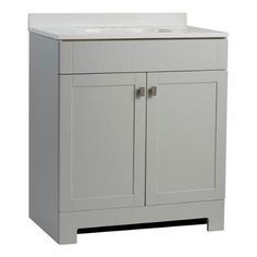 Bathroom Sinks Lowes Canada style selections white cultured marble integral bathroom vanity