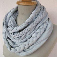 Braided scarf