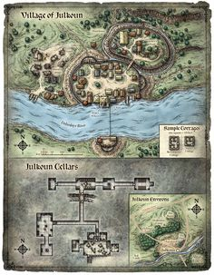 its a village
