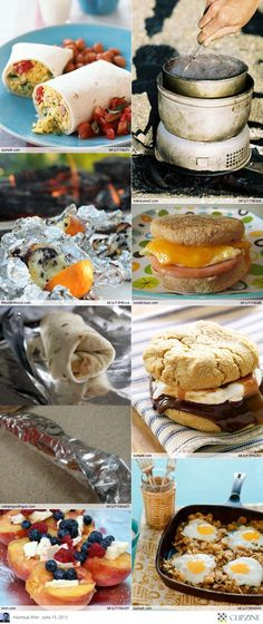 Great ideas for camping food. Can't wait to take Alex camping this year! Auto Camping, Camping Glamping, Camping Meals, Camping Hacks, Camping Recipes, Camping Cooking, Camping Stuff, Family Camping, Tater Tots