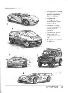 como dibujar autos paso a paso - Taringa! Car Drawings, Pencil Drawings, Drawing Techniques, Drawing Tips, Art Lessons, Concept Art, Cars, Vehicles, Artwork
