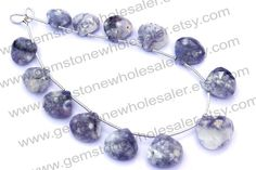 Morado Purple Opal Faceted Heart Quality A / by GemstoneWholesaler