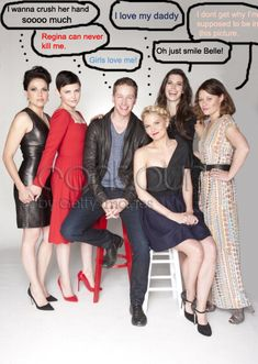 Once Upon a Time cast at Comic Con