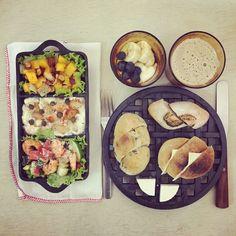 goooooooooooooood morning blue monday but colorful breakfast :-p)) #morning #breakfast #yummy #goodfood #instafood #onthetable  #homemade #foodie #foodstagram #foodphoto #foodpic #top_food_of_instagram