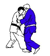 Ouchi Gari -- Large Inner Reaping.  Be careful with it, I broke my leg on the receiving end of one of these. Trimalleolar fracture, pins, the whole works