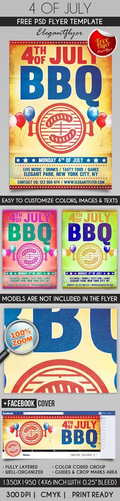 4th of July – Flyer PSD Template + Facebook Cover https://www.elegantflyer.com/free-flyers/4th-of-july-flyer-psd-template-facebook-cover-5/