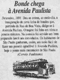 Fotografias Antigas da Avenida Paulista.