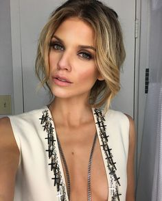 "AnnaLynne McCord - ""about last night glam: @tracewatkins hair: @thedrybar """