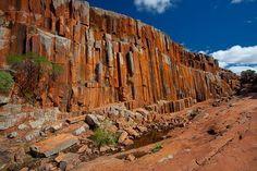 Kolay Mirica Falls, Gawler Ranges National Park, #Australia