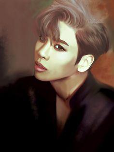 SHINee Jonghyun fanart by Dihanabi #jonghyun #shinee #jonghyunfanart #shineefanart