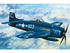 The Hobby Boss Grumman F8F-2 Bearcat Model Kit in 1/48 scale from the plastic aircraft model range accurately recreates the real life US Navy fighter aircraft flown during World War II. This Hobby Boss aircraft model requires paint and glue to complete.